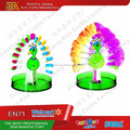 Novelty product Magic gowing Paper Tree Peacock