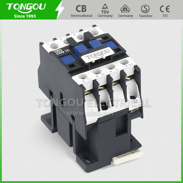 TOC2-D09 3P normally closed contactor