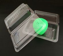 Food Grade Plastic Sushi Tray Disposable Plastic Food Container