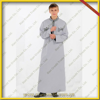 Reasonable Price For Men Arab Thobe Omani Style Saudi Thobe for sale KDT506