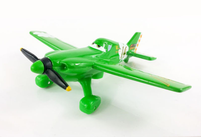 100% Original Pixar Planes Wings Around the Globel No.14 Little King 1:55 Diecast Kids   Toys Plane Toys For Children Loose