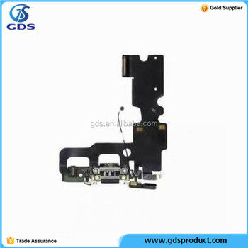 Charging Port USB Charger Dock Mic Flex Cable For iPhone 7