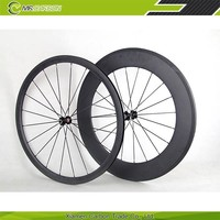 Lightweight Carbon Road Bike 32mm Clincher