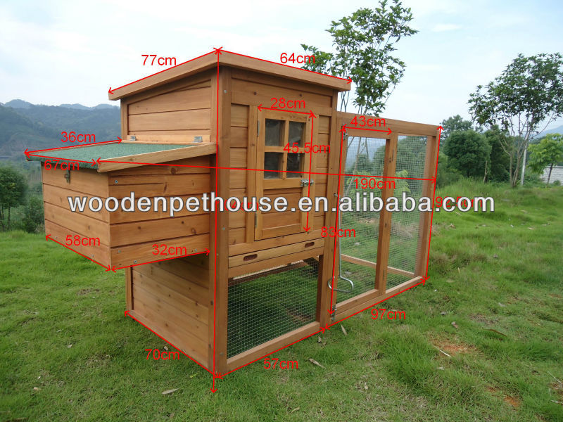 Hot Selling Wooden Chicken House (BP-C020)
