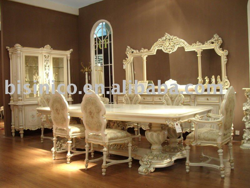 bisini european style luxury dining room set dining room furniture buy european dining set. Black Bedroom Furniture Sets. Home Design Ideas