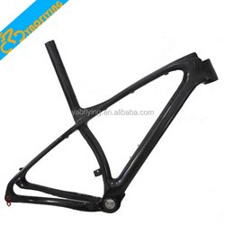 Light super finish glossy chinese 29er carbon mountain bike frame for sale