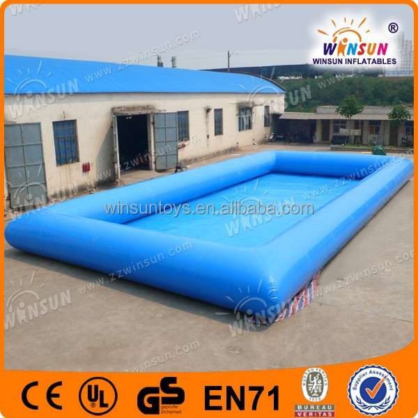 Big discount top quality adult siaze inflatable rectangular pool on sale