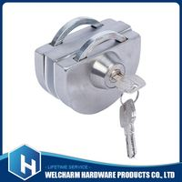 Safe reliable aluminum sliding door lock best quality hotel door lock
