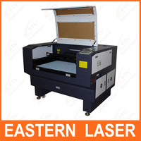 Eastern denim laser engraving machine with auto focus and mirror mount