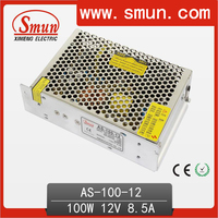 Switching Power Supply 100W 12V 8.5A AC-DC Single Output AS-100-12