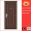 Dential iron steel french doors grill designs SC-S024.