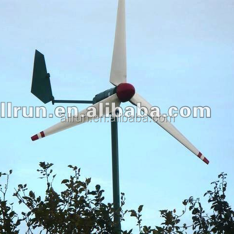 cheap price high efficiency 12v 24v 38v 3kw 2kw 1kw wind turbine generator system also called Small wind turbines