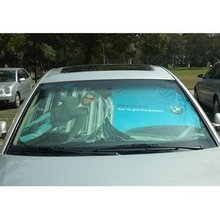 Sunshade(Tyvek Front Sunshade, car front sunshade , front window sunshade)