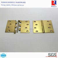 Fixed and Loose Pin Brass Surface Mounted Door Hinge