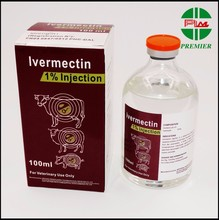 Veterinary Medicine Ivermectin 1% injection 50ml 100ml