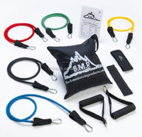 11Pcs Fitness Resistance Bands Exercise Tubes Elastic Training bands Yoga Pull tubes