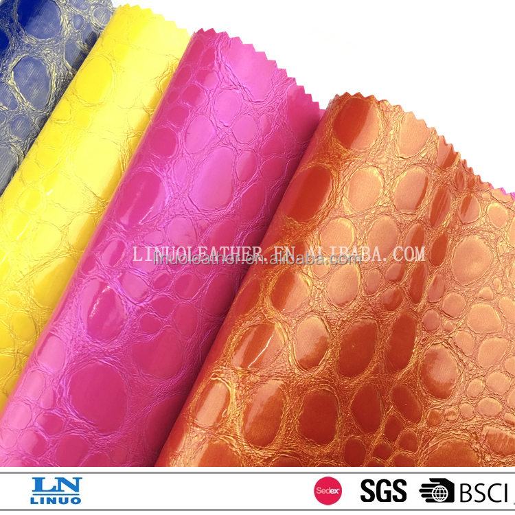 Fashion Design pu leather,Cheap price synthetic leather for shoes Made in China