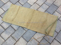 Heavy Duty Hessian Sandbags Sacks/ Flood Defence Sand Bags