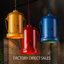 Loft Industial style Iron Creative Cafe Bar Personality Fire hydrant Pendant lamp