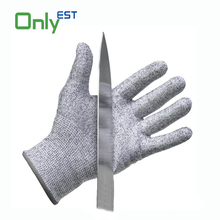 EN388 level 5 Cheap price working safety glass handling cut-resistance gloves