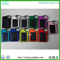 2600mah Solar panel gift solar mobile power supply for iphone 6 backup battery li-ion battery s4 mini solar charger PC p