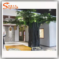 Allibaba com resin tree stump columns trees fiberglass artificial oak tree branches for restaurant decoration