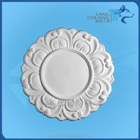 Fireproof Decorative Gypsum Fiberglass Reinforced Ceiling Round Panel
