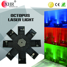 XHR Professional Stage Octopus Laser /8 claw UFO Laser Light For Night Club/Bar