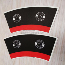 8oz paper coffee cup raw material price/paper cup fan