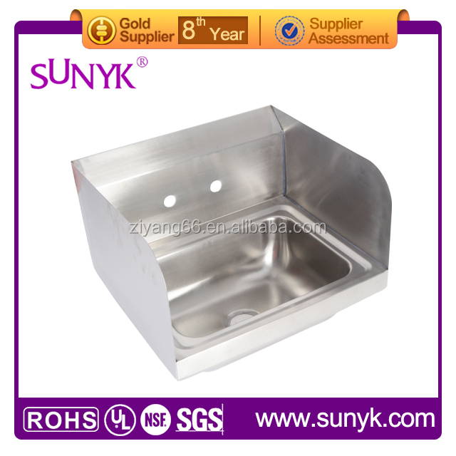 stainless steel kitchen fiber sink