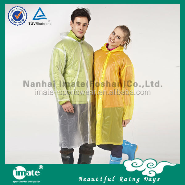 2014 Hot selling pvc bicycle rain poncho