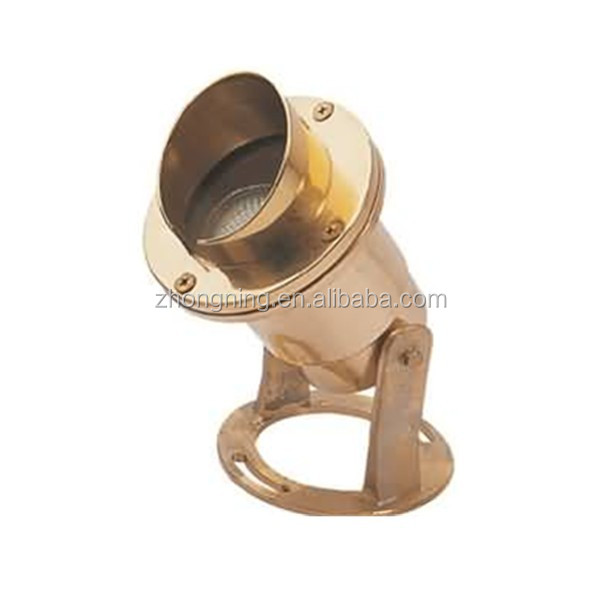 led pool lamp brass water light