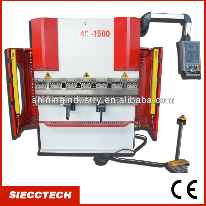 SIECC HIGH QUALITY CE AND UK STANDARD 40TON HYDRAULIC PRESS BRAKE MACHINE