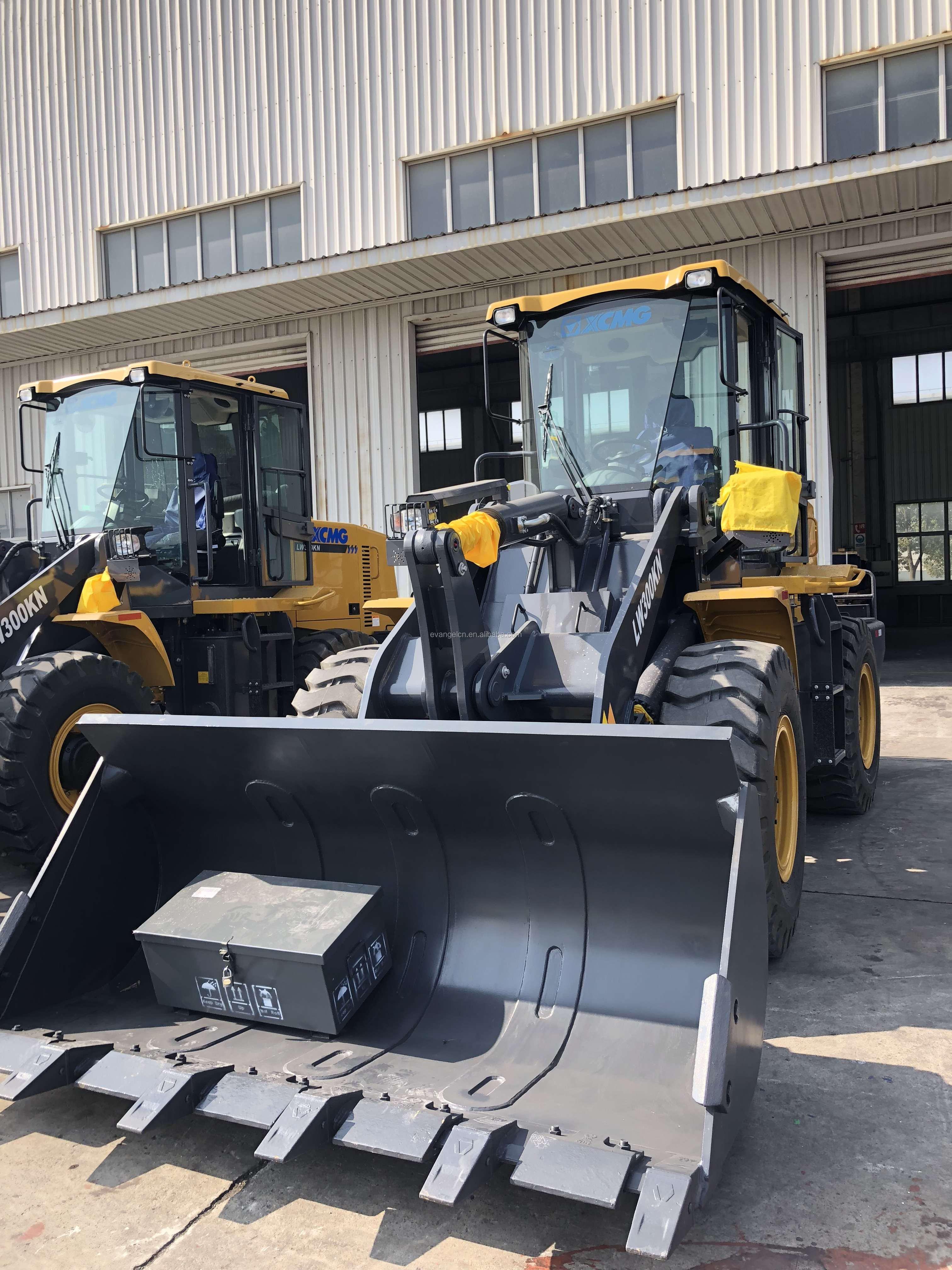 3 ton wheel loader XCMG lw300 wheel loader LW300KN