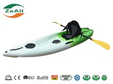 Single Seat Sit On Top Eco-friendly Reinforced LLDPE canoes/kayaks for fishing/matches/drifting Nancy Type