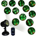 christmas Laser Lights Star Projector Landscape Lighting Holiday Projection Lights