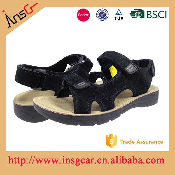 new design men pu or leather sandals 2016