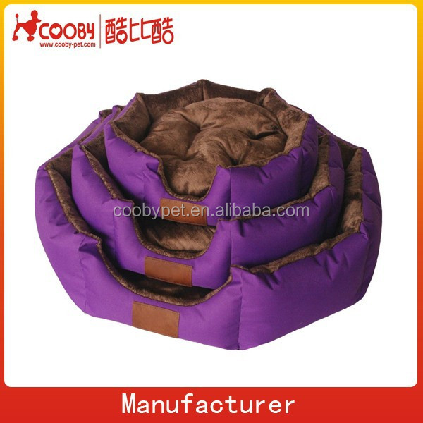 COO-2103 Soft Warm Indoor Portable Pets Dog Puppy Cat Bed Plush Cotton Mat kennel Luxury Pet Bed