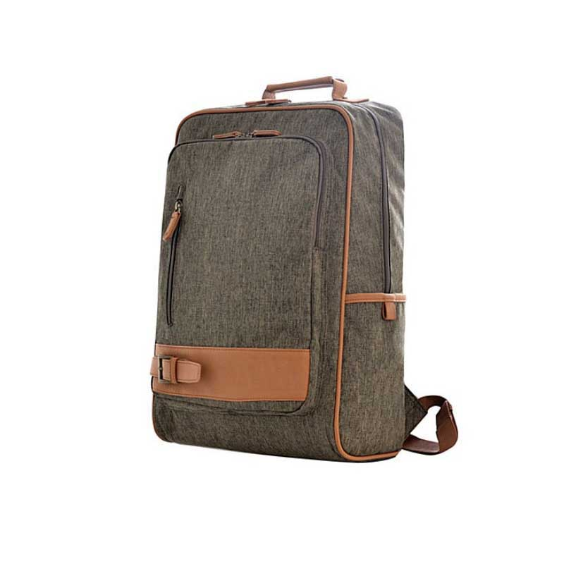 High quality business backpack laptop bags slim backpack in polyester