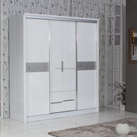 Bedroom Furniture Best Prices Armoire Single Door Laminated Plywood Wardrobe