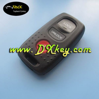 Reasonable price car key 2+1 buttons car remote key cover for mazda key case