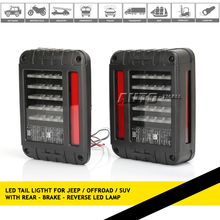 Led tail light jeep wrangler accessories tail light type and led lamp type led tail lamp for jeep wrangler