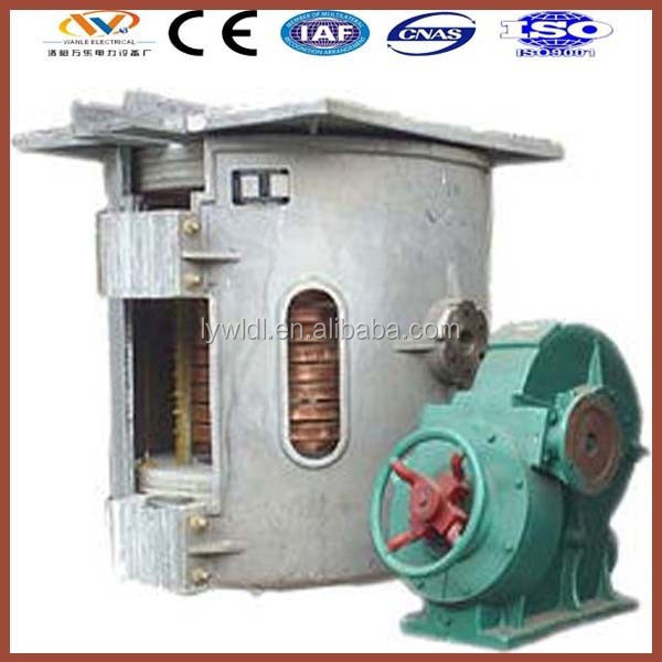 best seller energy saving bronze induction melting furnace for sale for copper scrap aluminum scrap