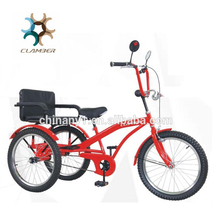 Competitive Hot Product Guaranteed Quality Adult Tricycle With Child Seat , hot sale tricycle cargo single speed cargo bike