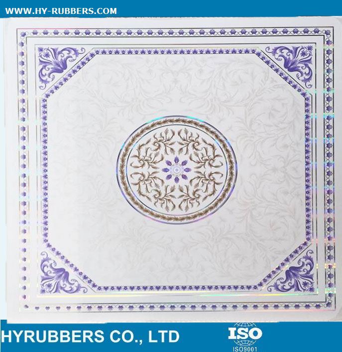 Hot stamp Decorative PVC panel exported to Iraq