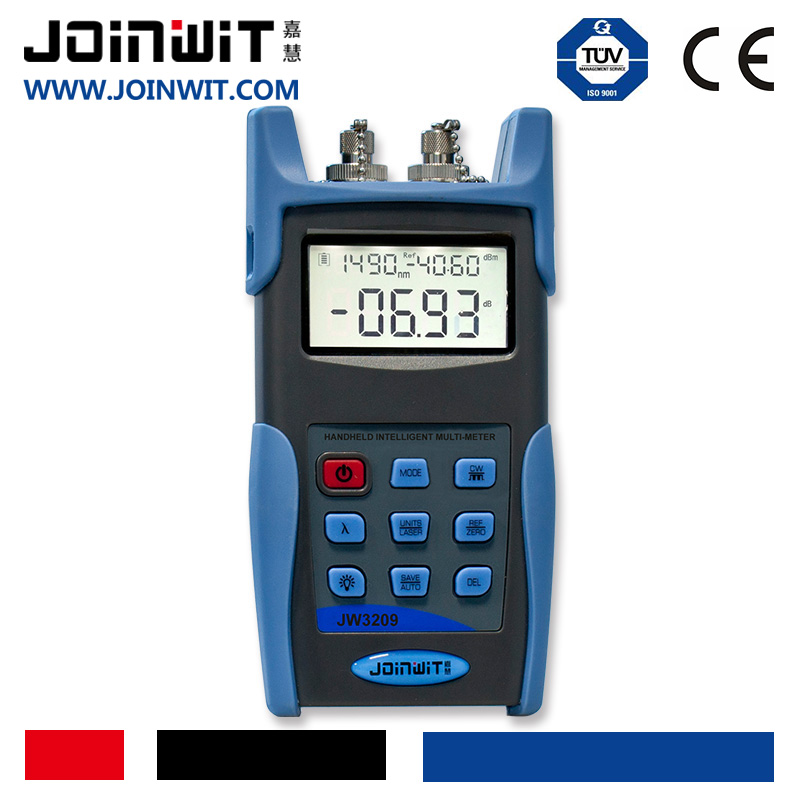 JOINWIT JW3209 Optic Multi-meter Optic Fiber Test Equipment of CW/270Hz/1KHz/2KHz in OLS Module