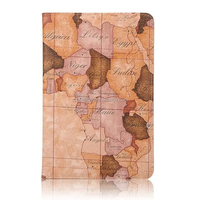 Wholesale world map design case for iPad mini 4