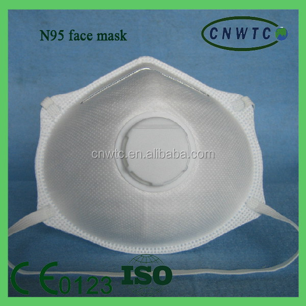 reusable non-woven dust mask with valve