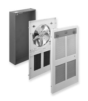 Fan Forced Electric Wall Heater With Thermostat Buy