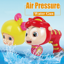 Animal Shape Pig Man Big Backpack Soft High Pressure Plastic Realistic Water Gun Toy